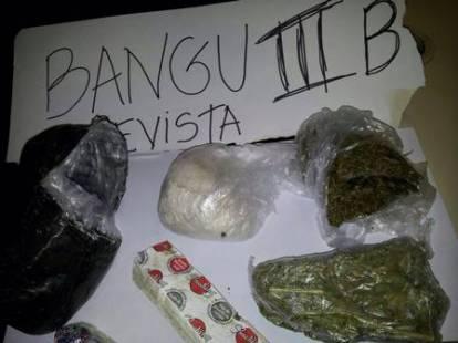 A visitante foi flagrada tentando entrar com maconha e cocaína Foto: Reprodução
