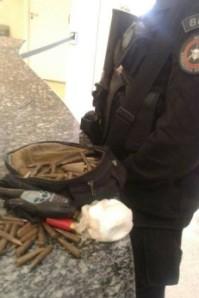Material foi encontrado próximo à mata Foto: Divulgação