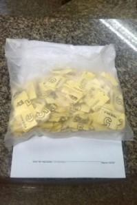 Homens estavam com 158 papelotes de crack Foto: Divulgação